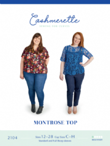 Montrose Top - Cashmerette Sewing Pattern